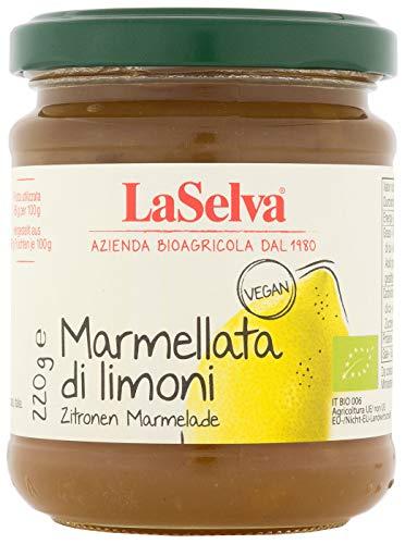 LaSelva Bio Marmellata di limoni, Zitronen Marmelade, 220 g