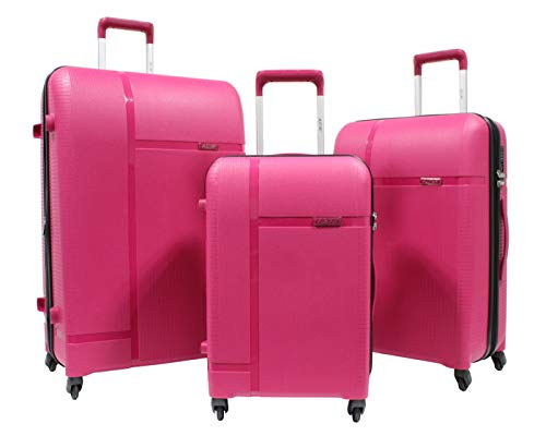Alistair X-Smart - Juego de 3 rejillas de 55 cm, 68 cm, polipropileno, marca francesa, rosa (Rosa) - LPP05 -S-M-L- Rose