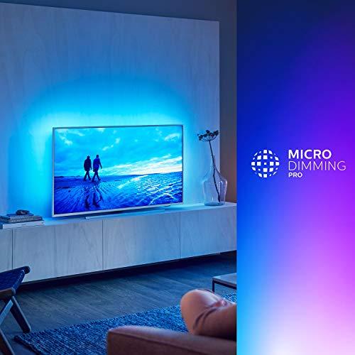 TV LED 4K 164 cm Philips 65PUS7304 Télé©viseur LCD 65 pouces TV Connectée : Smart TV Androit TV Netflix Tuner TNT/Câble/Satellite