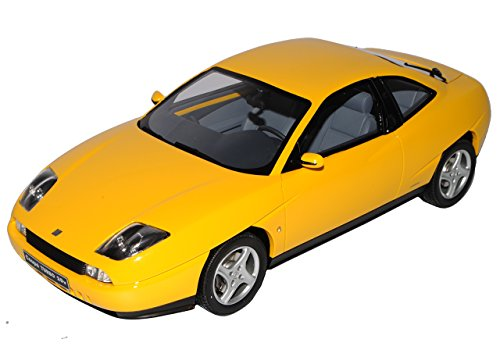 FIAT Coupe Turbo 20V Gelb 1994-2000 Nr 644 1/18 Otto Modell Auto