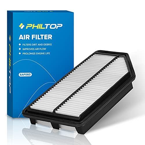 PHILTOP Engine Air Filter, Replacement for CA11042 Odyssey V6 3.5L (2011-2017), Pack of 1