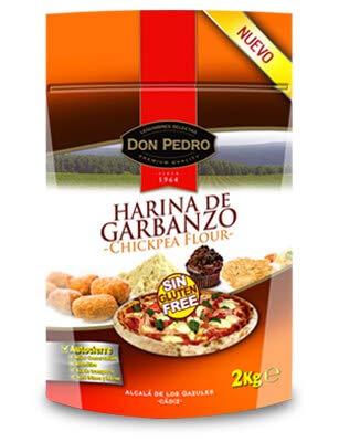 Harina de Garbanzo - Sin Gluten - Don Pedro - 2 Kg