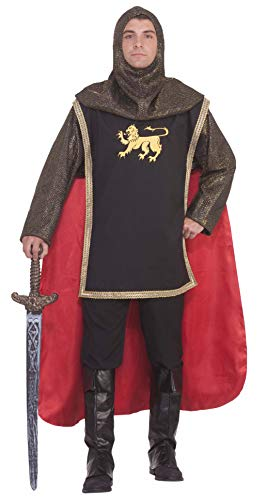 Forum Novelties costumes Medieval Knight Deluxe Costume Party Supplies, Brown, Standard US