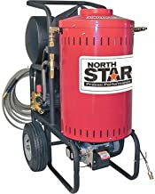 NorthStar Electric Wet Steam and Hot Water Pressure Washer - 2700 PSI, 2.5 GPM, 230 Volt