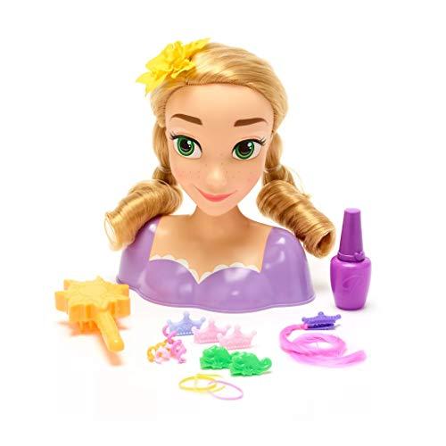 Disney Store Bambola Testa Da Pettinare Styling Rapunzel Con Tanti Accessori Inclusi Originale Disney