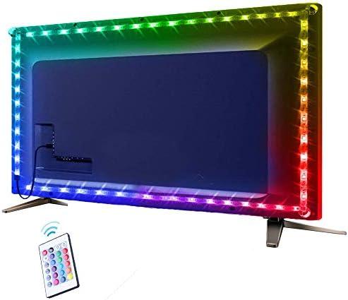 LED Strip Lights for TV AYSEMO 6 56Ft TV LED Backlight Kit SMD 5050 USB LED Light Strip with product image
