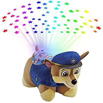 Pillow Pets Nickelodeon Paw Patrol Sleeptime Lites – Chase Plush Night Light from Pillow Pets (Toys)