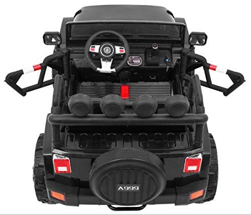 RC Auto kaufen Kinderauto Bild 2: BSD Kinderauto Elektroauto Kinderfahrzeug Spielzeug Elektrofahrzeuge - Master 4x4 2-Sitzer - Schwarz*