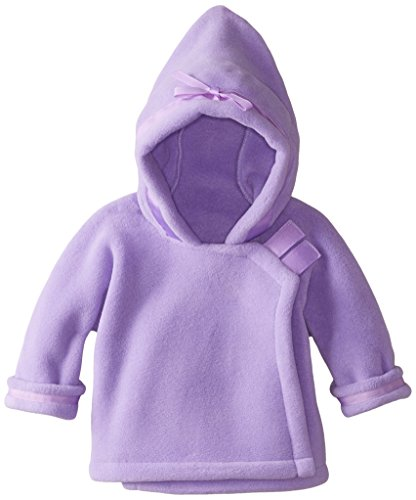 Widgeon Unisex Baby Fleece Wrap Jacket, Lavender, 24 Months