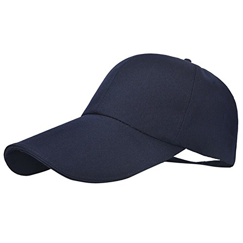 2019 Nuovo Occhiali da Sole alla Moda da Uomo, Traspiranti, Regolabili, con Cappello da Baseball Regolabile By WUDUBE