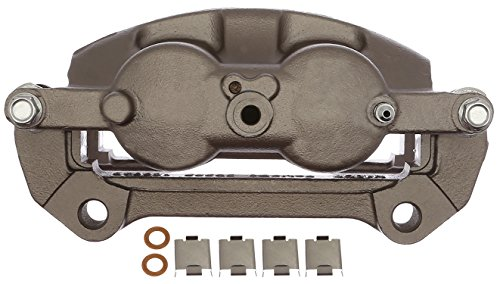 ACDelco 18FR12616 Professional Front Driver Side Disc Brake Caliper Assembly without Pads (Friction Ready Non-Coated), Remanufactured