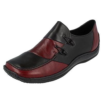 Rieker Women's Cassie Casual Shoe L1762 38 M EU/ 7-7.5 B(M) US Medoc/Black