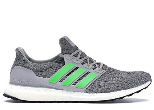 adidas Ultra Boost W Damen Sportschuhe, - Grau zwei, Limettengrün, Grau. - Größe: 46 EU