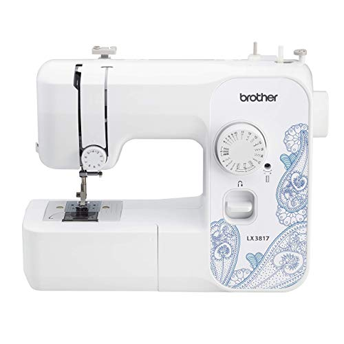 Brother RLX3817 17-Stitch Full-Size Sewing Machine, White (Renewed)