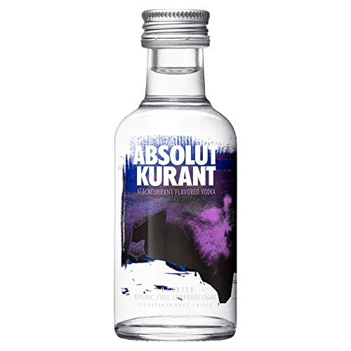Absolut Vodka Kurant 5 cl Miniatur