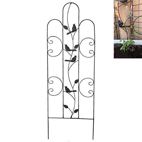 XLSQW Metall-Garten-Gitter, Klettergerüst Pflanze Trellis Kletterpflanzen Support Home Garten-Blumen-Stände Wetterfest, für Außenanlagen