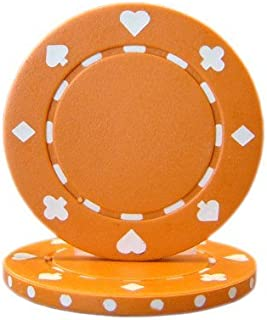 Brybelly Suited Poker Chips (50-Piece)