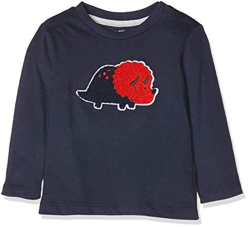 Tom Tailor T-Shirts 1/1 Camiseta, Azul (Black Iris|Blue 3800), 80 cm Unisex bebé