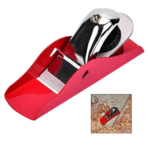 iPobie Mini Carpintero de Madera para Manualidades, Cepilladora de Madera, Herramienta de Bricolaje Cepillo de Carpintero 160mm