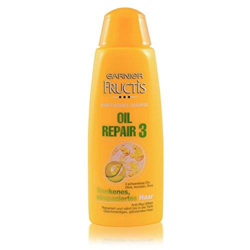 5-pack Fructis Olio Repair 3 Mini Reise-Shampoo 5 x 50 Ml