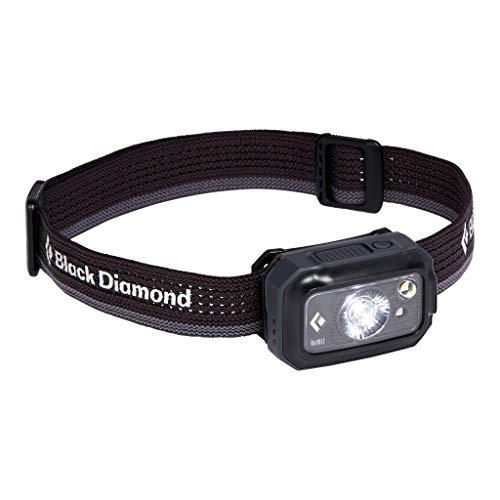 Black Diamond Revolt 350 HEADLAMP Linternas Frontales de Acampada y Marcha, Unisex-Adult, Graphite, All