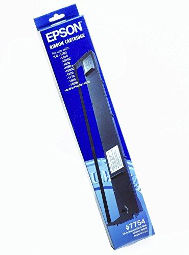 Epson SIDM Black Ribbon Cartridge for LQ-1000/1050/1070/+/1170/1180/+ (C13S015022) - printer ribbons (LQ-1500/2170/2500/25, Black, Dot matrix, 24 Pin, 170 g, 492x91x36)