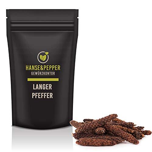 100g Langer Pfeffer Stangen indischer Pfeffer ganz natürlich vom Hanse&Pepper Gewürzkontor - Gourmet Serie