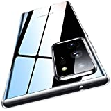 Meifigno Clear Note 20 Ultra Case, Samsung Note 20 Ultra 5G Case, Ultra Thin & Slim Fit Flexible TPU Case, Compatible with Samsung Galaxy Note 20 Ultra 6.9' (2020) - Crystal Clear