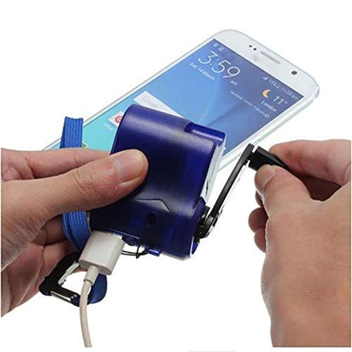 TQ USB Telefon Notladegerät Für Camping Wandern Outdoor Sports Handkurbel Travel Chargercamping ausrüstung Survival Tools