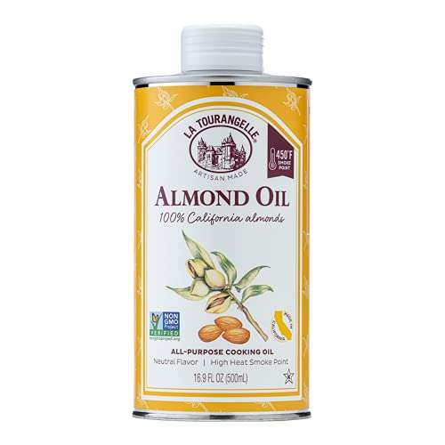 La Tourangelle, Almond Oil, All Natural, Nutrient-Packed Enhancement for Cooking and Body Care, 16.9 fl oz