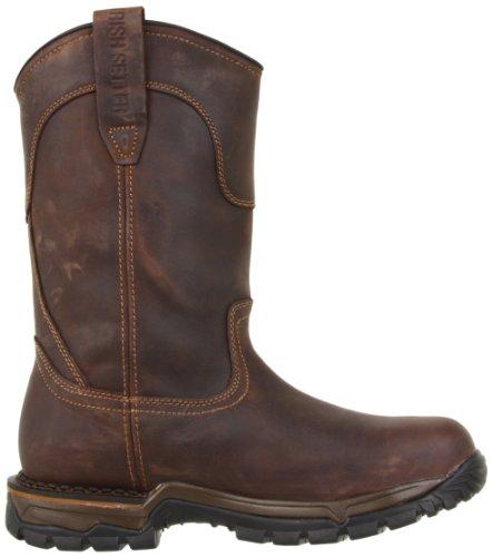 Irish Setter Work mens 83906 Wellington Steel Toe Work Boot,Brown,9 D US