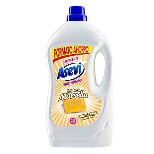 Detergente Asevi Jabón de Marsella 53 dosis