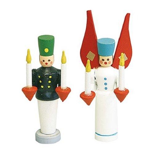 Rülke Holzspielzeug 21651 Puppenhauszubehör, weiß, schwarz, rot, blau, gelb