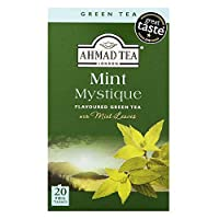 Ahmad Tea - Mint Mystique Flavoured Green Tea 20 Bags - 40g