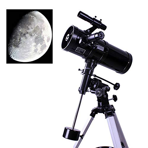 MSQL Professionelles astronomisches HD-Teleskop, 500-fach faltbar, reflektierendes Monokular mit äquatorialer Fassung für die Beobachtung von Sternen im Weltraum