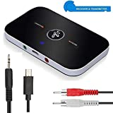 Famous Quality IT® 2 in 1 Bluetooth Transmitter & Receiver, Wireless Stereo Audio