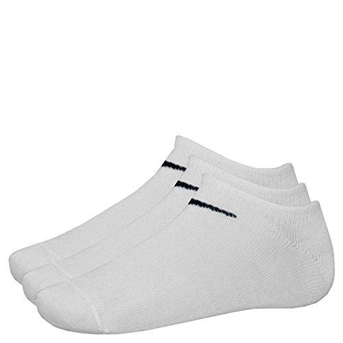 Nike 9 Paar Sneaker-Socken NO Show weiß M (38-42) SX2554-101