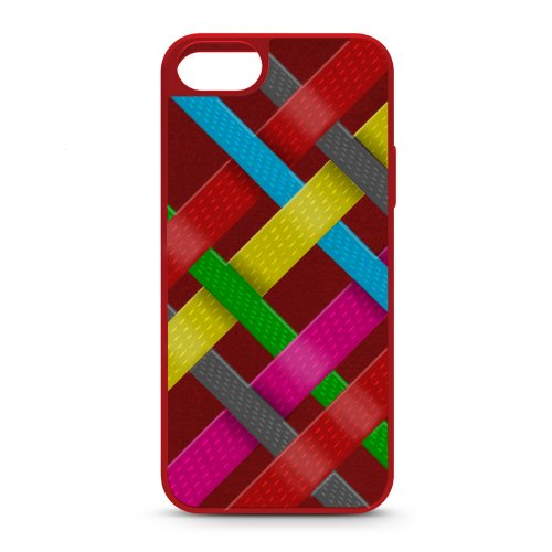 iLuv - Cover per iPhone 5/5S, Colore: Rosso