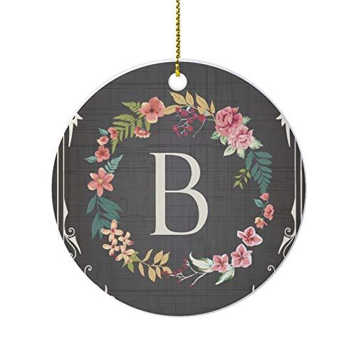 None-brands Inspirational Christmas Souvenir, Garland Around The Letters BFunny Ornaments, Events Quarantine Christmas Porcelain Souvenir, Commemorative Ornament, Pandemic Pendant Decoration