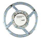 Módulo de Luz LED para Lámparas Panel de Techo, Superficie Circular Extraplano, Luz fría 6500k, Potencia 16W, Clase A, Diámetro 22cm
