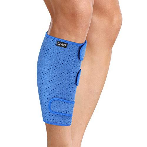 Soporte para pantorrillas, soporte de férula ajustable para espinillas, soporte para pantorrillas, envoltura de compresión para la parte inferior de la pierna aumenta la circulación Reduce la hinchazó