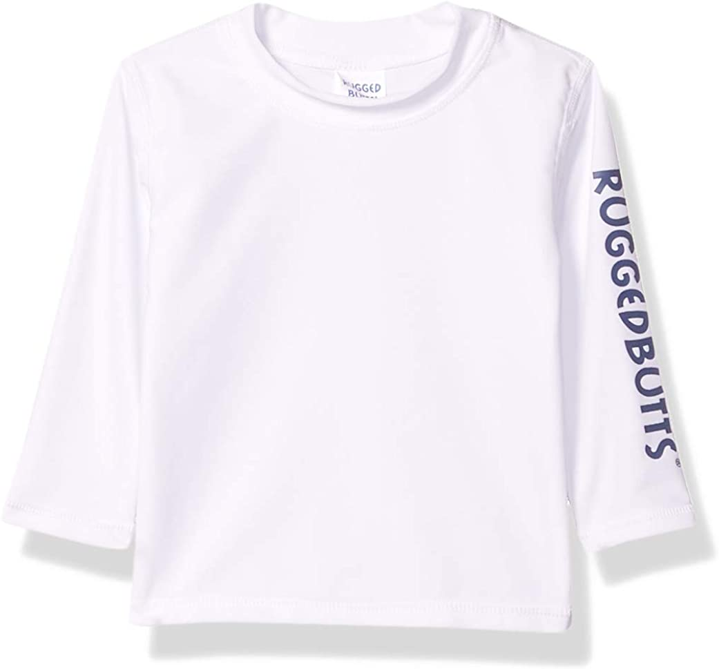 RUGGEDBUTTS Baby/Toddler Boys Long Sleeve Rash Guard Swim Shirt w/UPF 50+: Clothing, Shoes & Jewelry