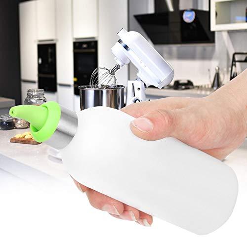 Mothinessto Bottiglia di condimento Insalata Salsa Serbatoio Materiale in Resina PP Spremere Condimento per Insalata in Bottiglia(Verde)