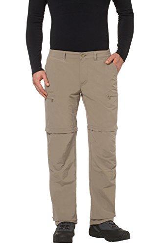 Vaude Farley Zip Off IV Pantalon Homme - Muddy - FR : XXXL (Taille Fabricant : 58)