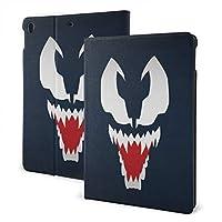 iPad Air 第3世代 10.5インチ ケース ヴェノム 高級puレザー製 手帳型 傷防止 全面保護 iPad 専用スマートケース おしゃれ 保護ケース カバー 耐衝撃 オートスリープ&スタンド機能付き 磁気バックル式