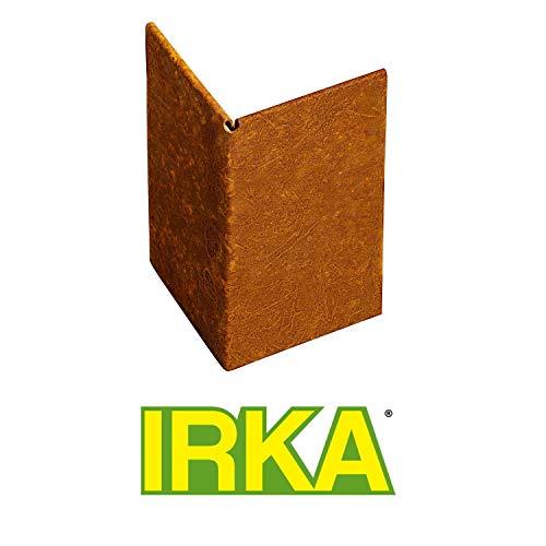 IRKA Ecke Corten Stahl für Rasenkantenband 25 cm