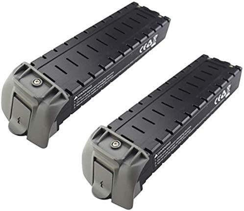 ZYGY 2PCS 7.4V 2800mAh Lipo Batterie für HS700D Bürstenlos Quadcopter Drohne Grau