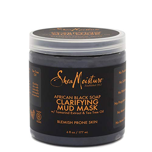 SheaMoisture Clarifying Mud Mask for Oily, Blemish-Prone Skin African...