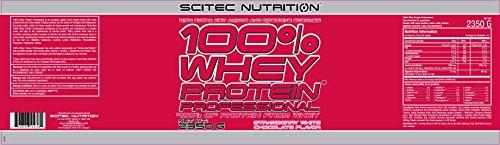 Scitec Nutrition Whey Protein Professional Erdbeer-Weiße Schokolade, 1er Pack (1 x 2350 g) - 2