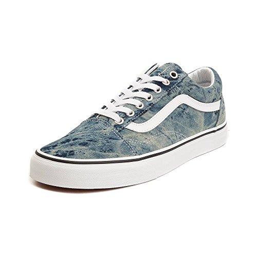 Vans Unisex Old Skool Chex Skate Shoe Sneaker (8.5 Women/7 Men, Acid Denim 7183)